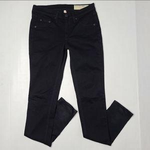 Rag & Bone 25 Black Legging Skinny Womens Jeans